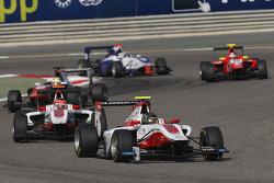 Marvin Kirchhofer, ART Grand Prix leads Esteban Ocon, ART Grand Prix