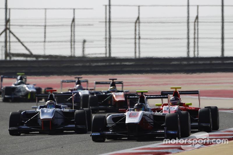 Марвін Кірчхофер, ART Grand Prix лідирує  Маттхев Паррі, Koiranen GP та Еміль Берншторфф, Arden International