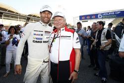 Mark Webber, Porsche Team con Dr. Wolfgang Porsche