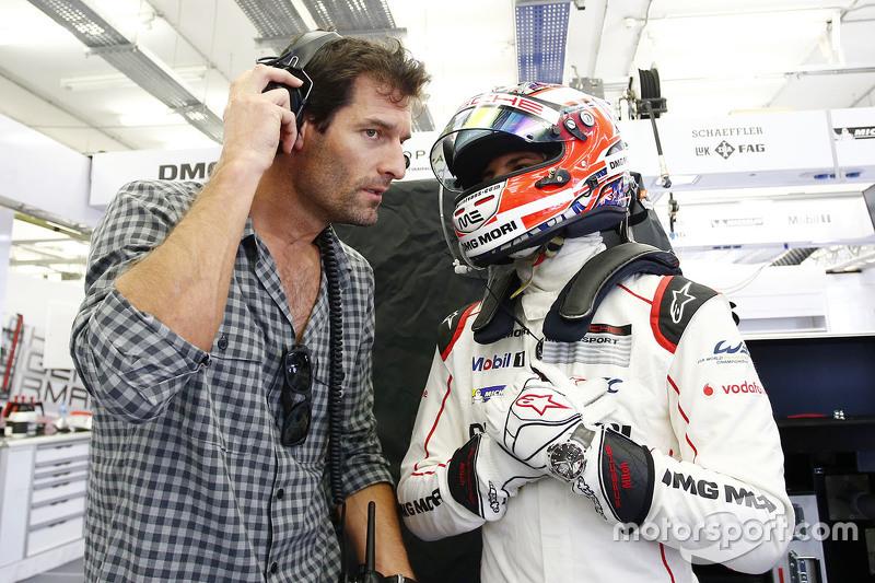 Мітч Еванс та Марк Веббер, Porsche Team