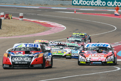 Jose Manuel Urcera, Las Toscas Racing Torino, Guillermo Ortelli, JP Racing Chevrolet, Juan Marcos Angelini, UR Racing Dodge