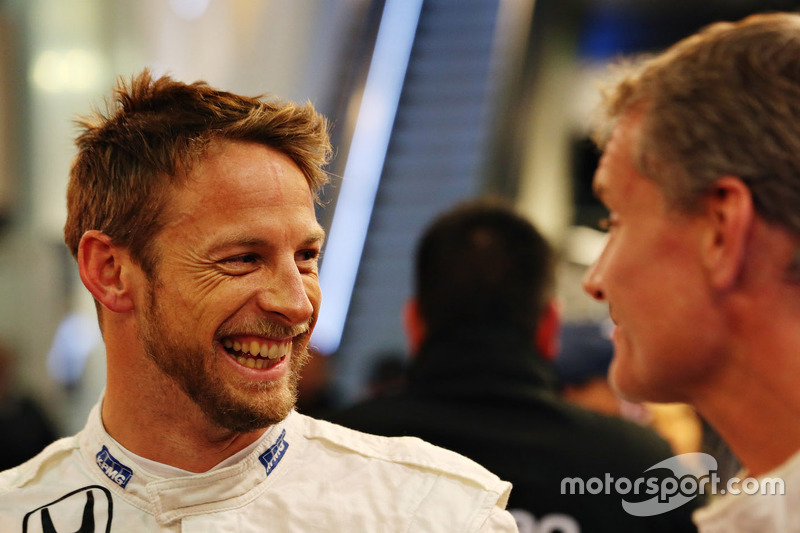 Jenson Button und David Coulthard