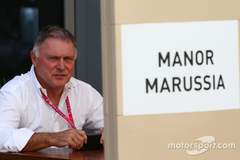 Dave Ryan, Manor Marussia F1 Team, Renndirektor