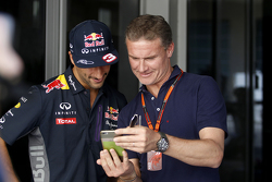 Daniel Ricciardo, Red Bull Racing with David Coulthard, Red Bull Racing and Scuderia Toro Advisor / BBC Television Commentator