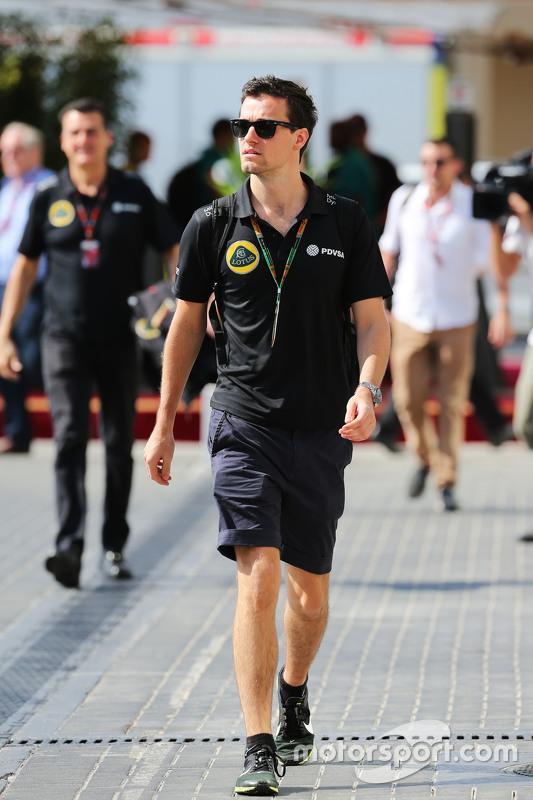 Jolyon Palmer, Lotus F1 Team test- en reserverijder
