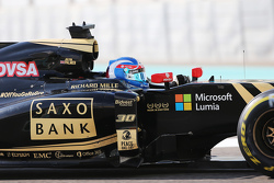 Jolyon Palmer, pilote d'essais et de réserve Lotus F1 E23