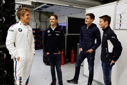 Jesse Krohn, Tom Blomqvist, George Russell and Louis Deletraz