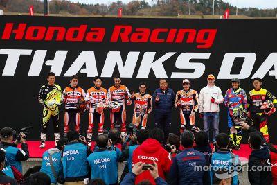 Honda Racing Día de Gracias