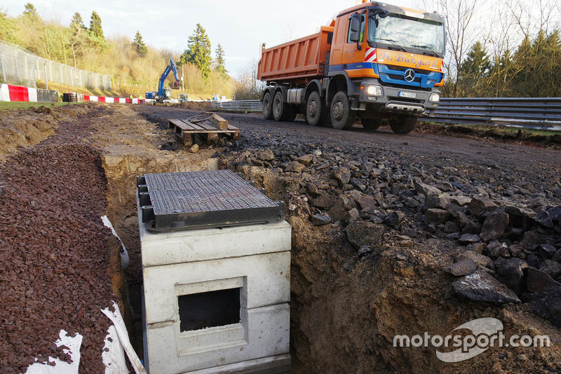 #1: Bauarbeiten auf der Nürburgring-Nordschleife