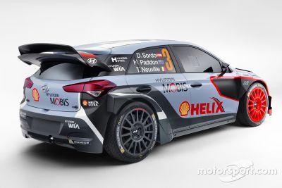 Presentación del Hyundai i20 WRC de 2016