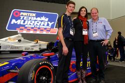 Matt Brabham with Taya Kyle and Brett Murray