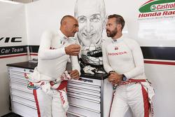 Тьяго Монтейро, Honda Racing Team JAS та Габріеле Тарквіні, Honda Racing Team JAS