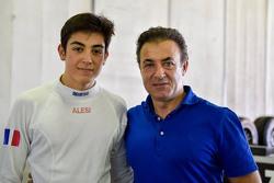 Джулиано Алези и его отец Жан