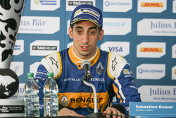 Press Conference, Sébastien Buemi, Renault e.Dams