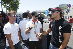 Sébastien Loeb, Citroën World Touring Car team, Tiago Monteiro, Honda Racing Team JAS , dan Stefano D'Aste, Münnich Motorsport