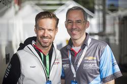 Tiago Monteiro, Honda Racing Team JAS dan Alain Menu