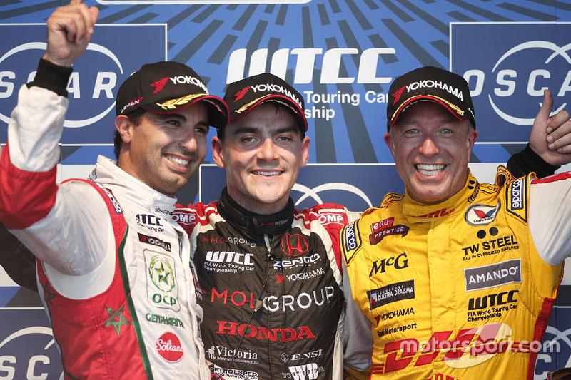 Mehdi Bennani, Sébastien Loeb Racing, Norbert Michelisz, Zengo Motorsport, dan Tom Coronel, ROAL Motorsport