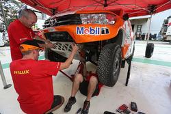 Teams preparations