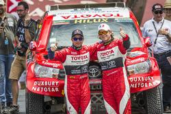 #301 Toyota : Giniel de Villiers, Dirk Von Zitzewitz