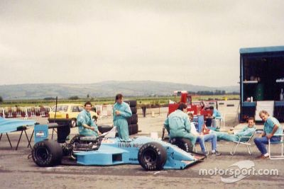 Leyton House March 881 Test