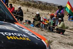 Fans bolivianos