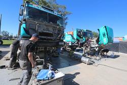 Team de Rooy, i meccanici a lavoro