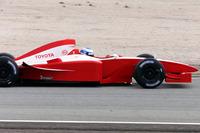 由米卡·萨罗驾驶的丰田F1赛车
