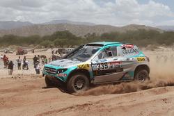 Хуан Сильва и Томислав Главич, #339 Mercedes
