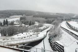 Spa-Francorchamps, nevicata