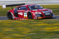 Stefan Wackerbauer, Kelvin van der Linde, C. Abt Racing Audi R8 LMS ultra