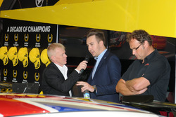 Tom Ingram, Speedworks speak to BTCC commentator Alan Hyde