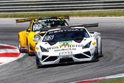 #25 Reiter Engineering Lamborghini Gallordo R-EX: Tomas Enge, David Russel