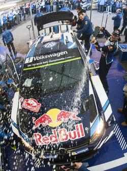 Ganadores, Sébastien Ogier, Julien Ingrassia, Volkswagen Motorsport