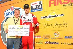 Oliver Askew und und Scott Sebastian, Motorsport.com