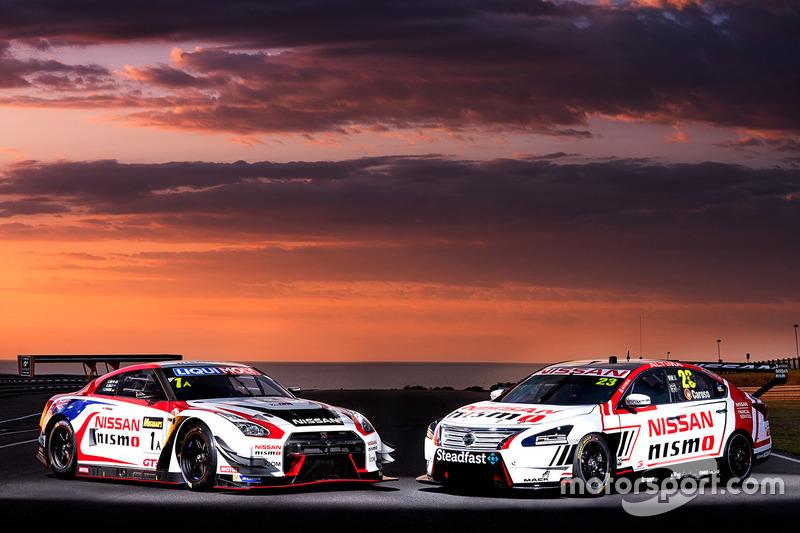 5. Nissan Motorsport Vorstellung auf Pillip Island