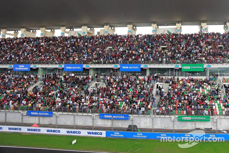Fans di grandstand