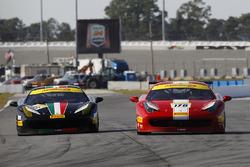 #178  Newport Beach Ferrari 458: Al Hegyi, #113  San Francisco Ferrari 458: Geoff Palermo