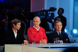 Pascal Vasselon, Toyota Racing and Dr. Wolfgang Ullrich, Audi Sport, president of the FIA Endurance Commission Lindsay Owen-Jones