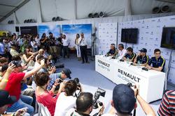 Jean-Paul Driot, Alain Prost, Sébastien Buemi, Nicolas Prost, Renault