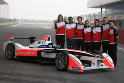 Mahindra Racing, foto di gruppo