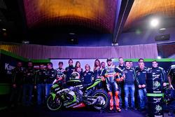 Jonathan Rea, Tom Sykes und die Kawasaki Ninja ZX-10R