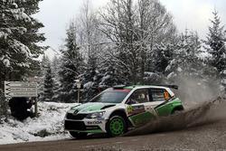 Pontus Tidemand, Jonas Andersson, Skoda Motorsport Skoda Fabia R6