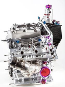 Porsche 919 Hybrid, il motore 4 cilindri turbo