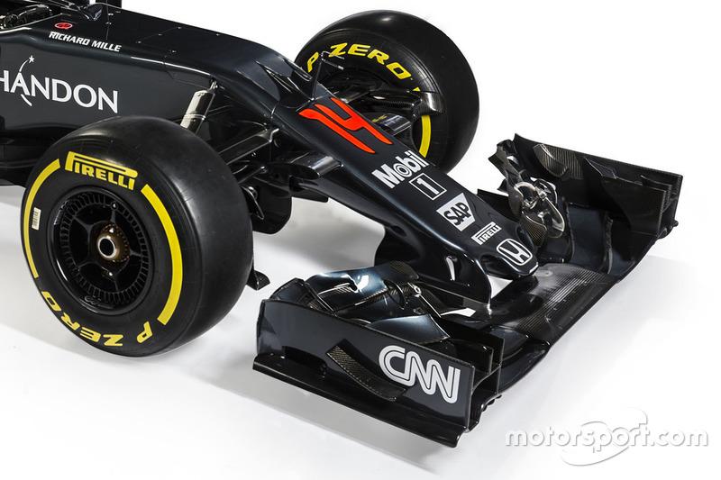 McLaren MP4-31, dettaglio