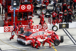 Pit stop Kyle Larson, Chip Ganassi Racing Chevrolet