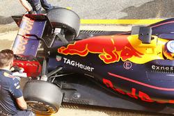 Задняя часть машины Даниэля Риккардо, Red Bull Racing RB12