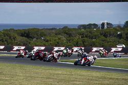 Nicky Hayden, Honda WSBK Team e Leon Camier, MV Agusta