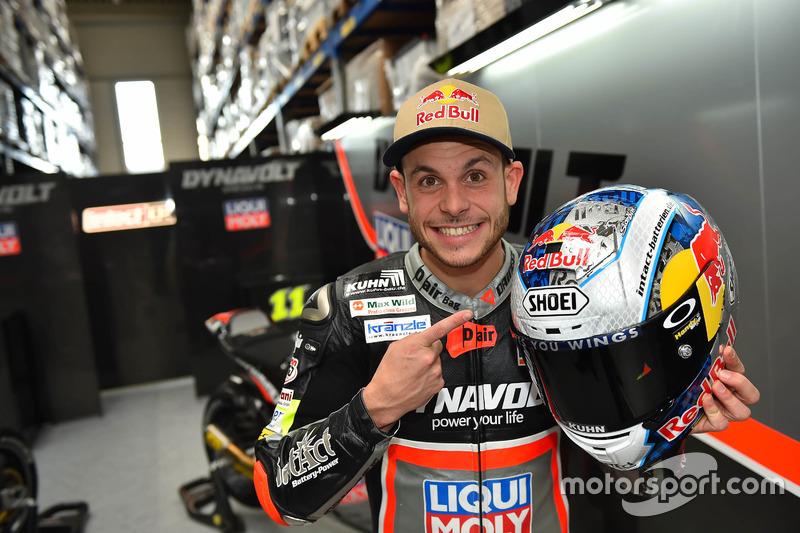 Sandro Cortese – Ausfall, Moto2: