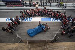 Max Verstappen, Scuderia Toro Rosso und Carlos Sainz Jr., Scuderia Toro Rosso enthüllen den Scuderia Toro Rosso STR11