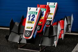 Musi di riserva di George Russell, HitechGP, Dallara F312 - Mercedes-Benz, Ben Barnicoat, HitechGP, Dallara F312 - Mercedes-Benz